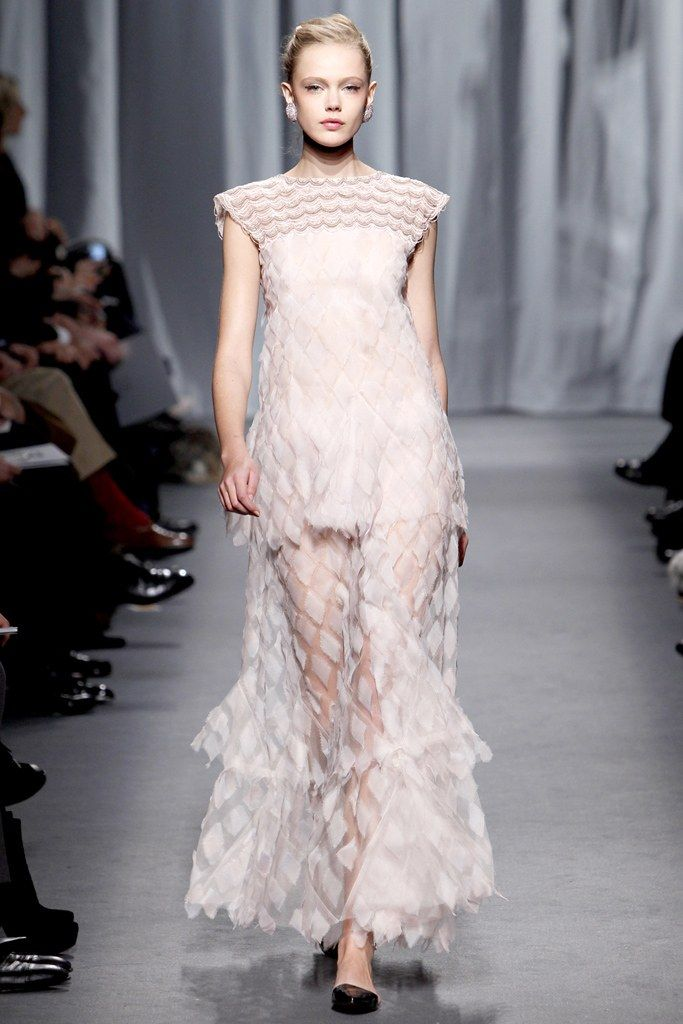 Chanel Spring 2011 Couture Fashion Show - Frida Gustavsson (IMG)