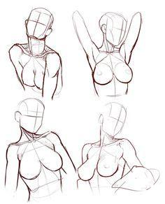 draw female body - Buscar con Google