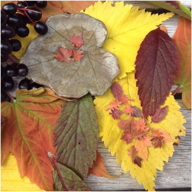 How to make miniature fall leaves