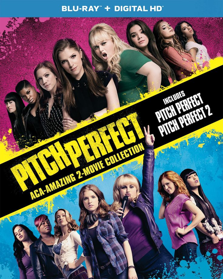 Pitch Perfect Aca-Amazing 2-Movie Collection (Blu-ray + DIGITAL HD)