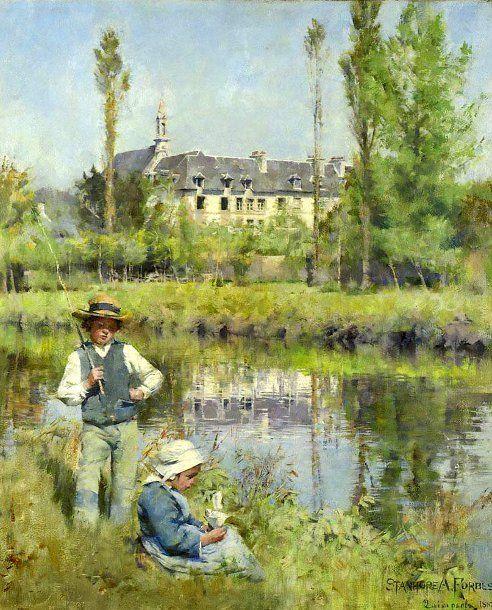 Stanhope Alexander Forbes (1857 – 1947, Irish)