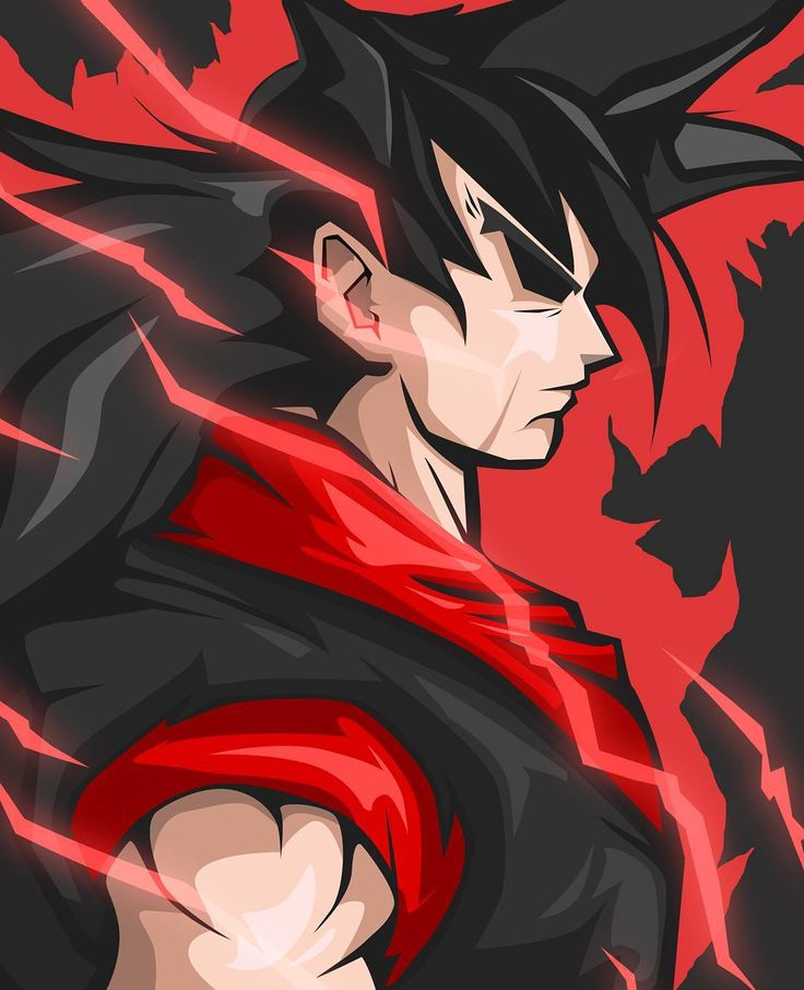 I have no idea what Dark/Black Goku is going to look like so I did some research…
