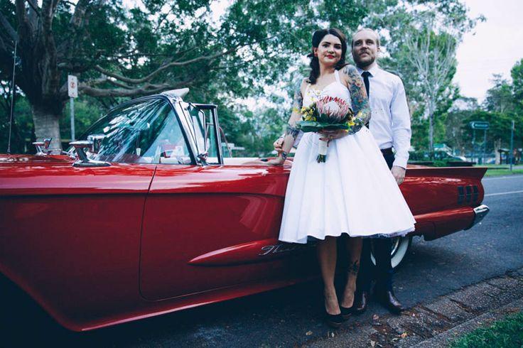 HOORAY! magazine - Alison + Dean #wedding #love #bride #groom