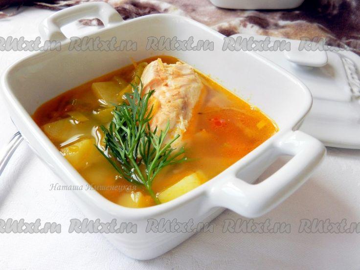 Суп из семги рецепт приготовления