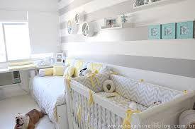 Resultado de imagem para quarto bebe amarelo e cinza