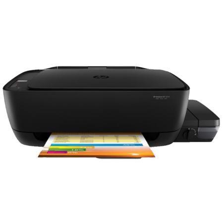 HP Deskjet GT 5810  — 13090 руб. —  Струйное цветное МФУ HP DeskJet GT 5810 AiO с функцией печати на бумаге формата А4 — удобное и выгодное приобретения для дома или офиса. Устройство отличается средней скоростью печати цветного изображения, однако довольно высоким разрешением (4800?1200 dpi). При этом в данной модели возможна печать на конвертах и печать фотографий, а также важным преимуществом можно назвать возможность печати без полей. Встроенный сканер имеет планшетный тип сканирования…