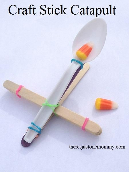 DIY Children's : DIY Simple Craft Stick Catapults