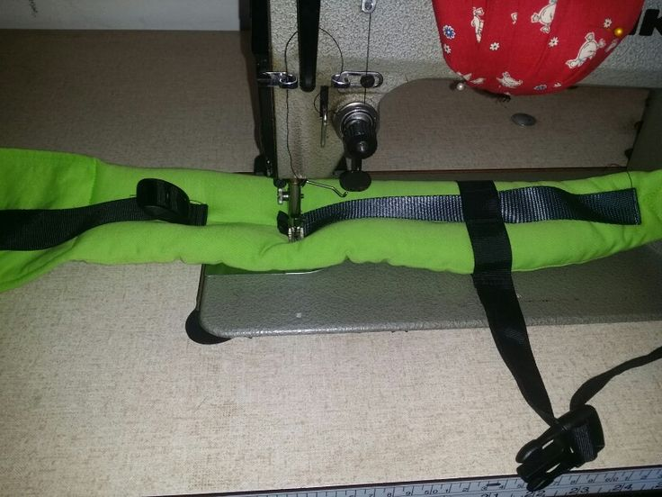 Sewing straps
