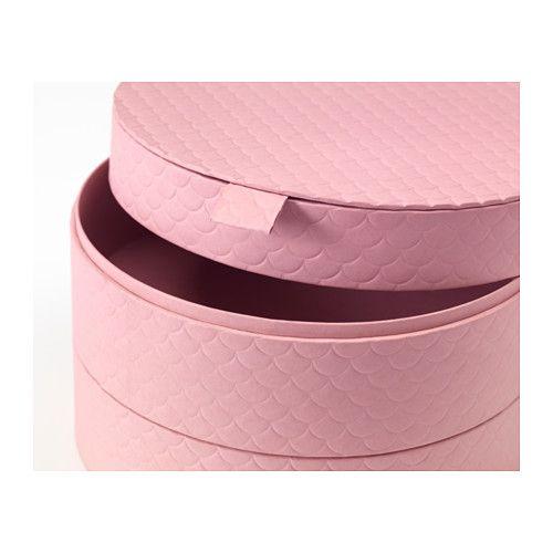 PALLRA Box with lid  - IKEA $9.99