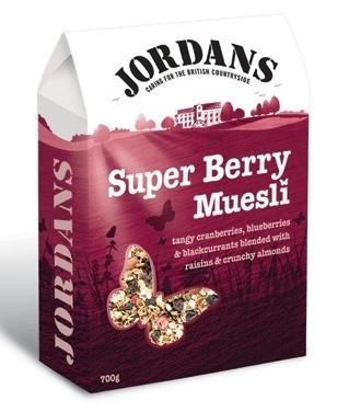 Super Berry Muesli Jordans my new fave brekkie!