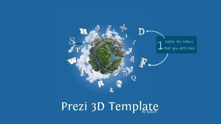 Prezi 3D TEMPLATE by sydo.fr