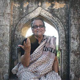 Poet Zehra Nigah (Pakistan), featured on PI in November 2013. Image © Mayank Austen Soofi from The Delhi Walla digital magazine