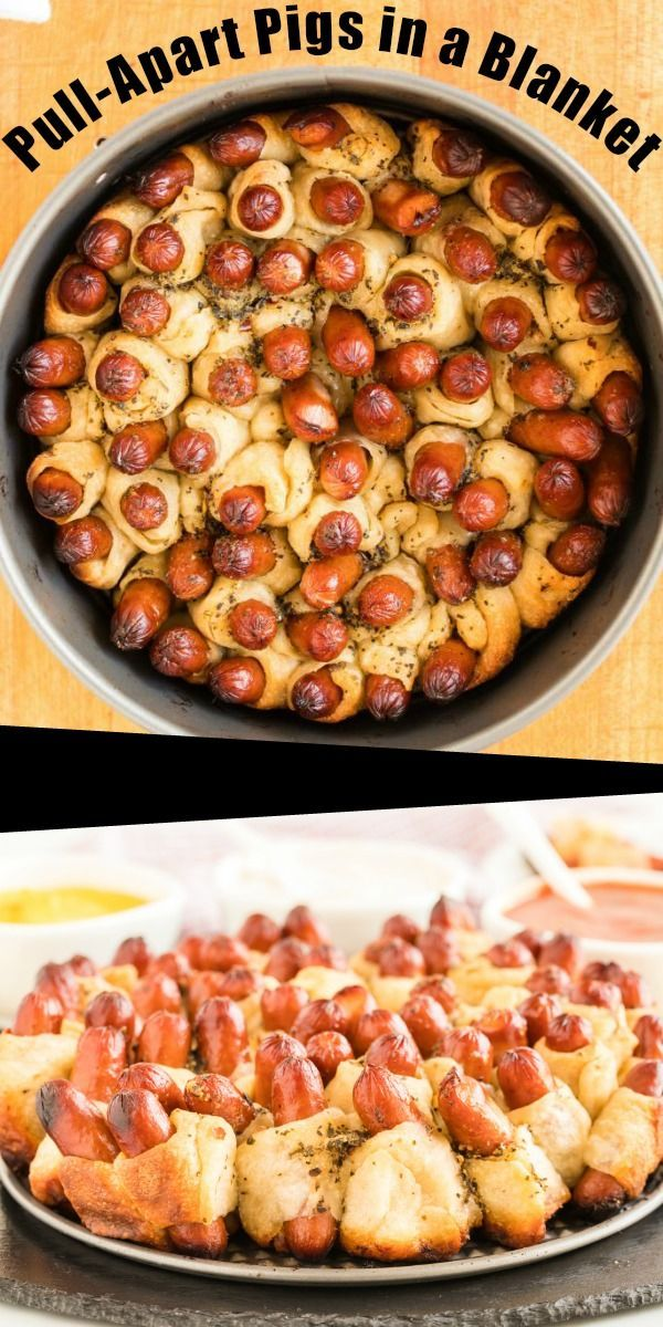 pull apart pigs in a blanket