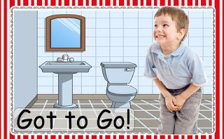 Autism & Learning to Use a Public Restroom: Tips for Parents and Educators.   How to make the process of using new bathrooms fun, interesting, and successful!  Capitals First! by Print Path: