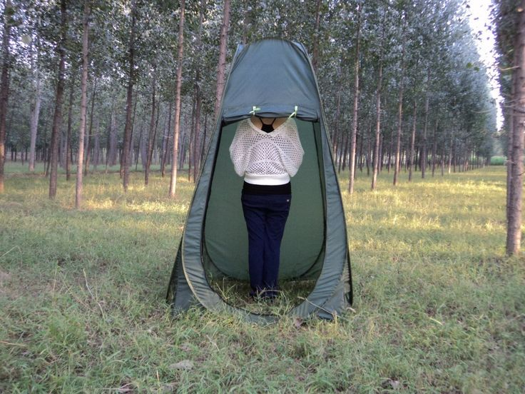Only Kr143.14, army green Portable Outdoor Changing Clothes Shower Tent Camp Toilet - Tomtop.com
