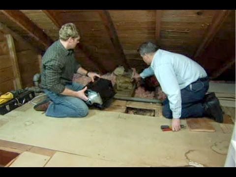 How to Install a Bathroom Fan - This Old House - YouTube
