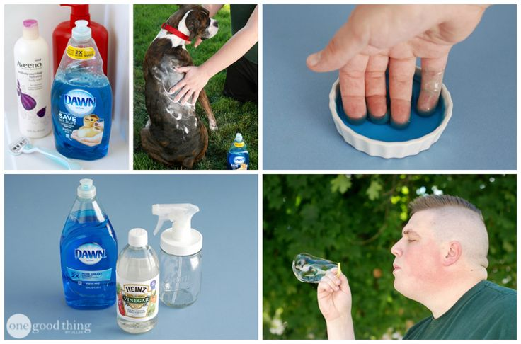 28 Ways To Use Dawn Dish Soap That Will Make Your Life Easier - From One Good Thing by Jillee :: @byjillee :: | Glamour Shots Photography
