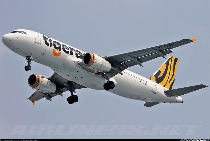 Airbus A320-232, Tigerair, 9V-TAF, cn 2728, 180 passengers, first flight 9.3.2006 (Tiger Airways), Tigerair delivered 3.7.2013. 3.6.2016 flight Krabi - Singapore. Foto: Jakarta, Indonesia, 18.1.2016.