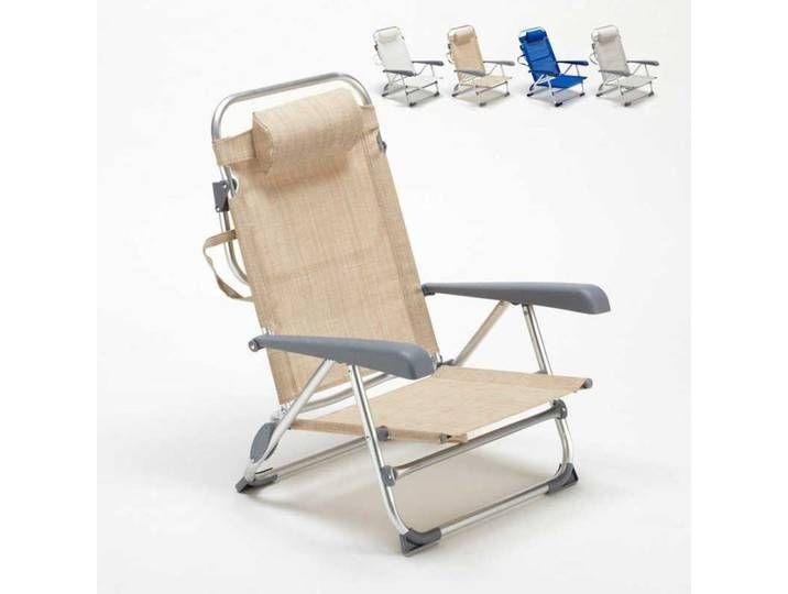 Liegestuhl Strandstuhl Klappbar Mit Armlehne Aus Aluminium F Liegestuhl Strandstuhl Klappbar Mit Armlehne Aus Aluminium Deck Chairs Loungers Chair Lounger