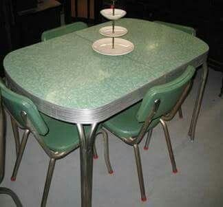 lovely mid-century dining set.