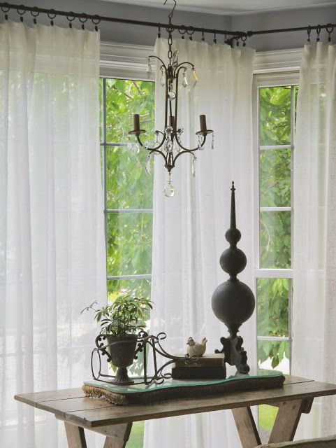Chateau Chic Ideas For Easy Window Treatments Curtains