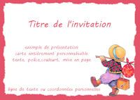Carte Invitation Participation A Un Colloque Invitation Depart