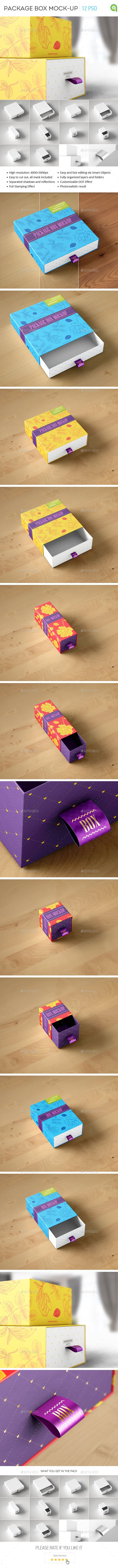 Package Box Mock-Up. Download here: http://graphicriver.net/item/package-box-mockup/14864357?ref=ksioks
