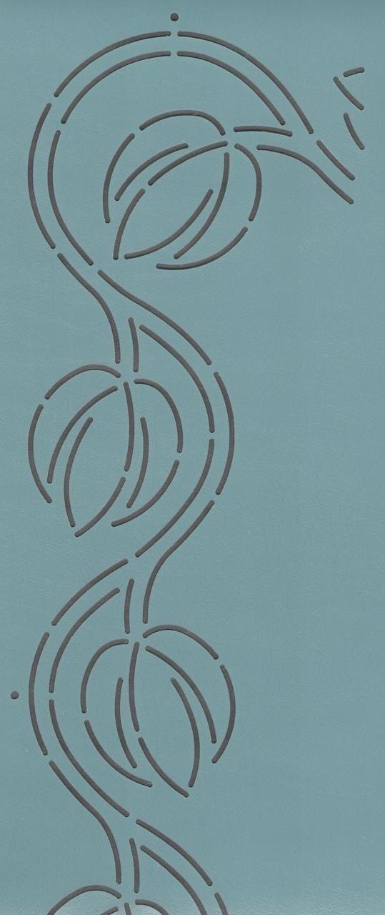 """Magnolia Border 3.5"""" - The Stencil Company"""