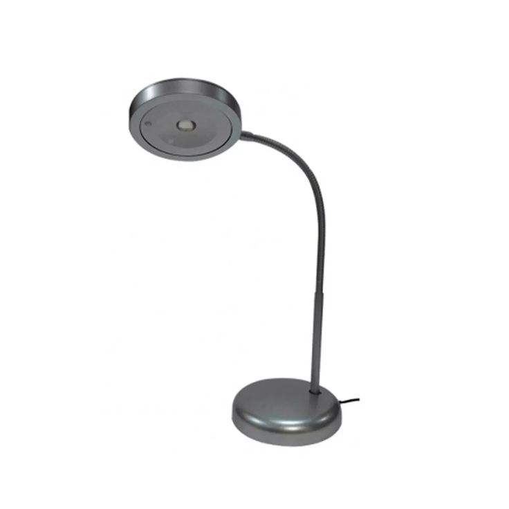 lampara de escritorio velador led 3w flexible artyluz puro