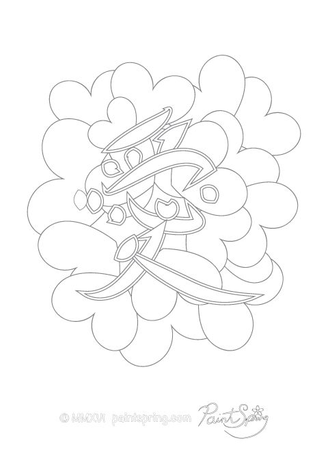 Geisha Kimono Coloring Pages Coloring Pages