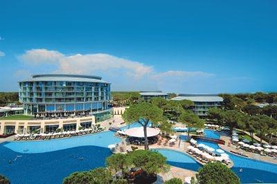 hotel Calista Luxury Resort ***** - Turkse Riviera - Antalya, Turkije - Vliegvakanties Jetair  - najaar 2010
