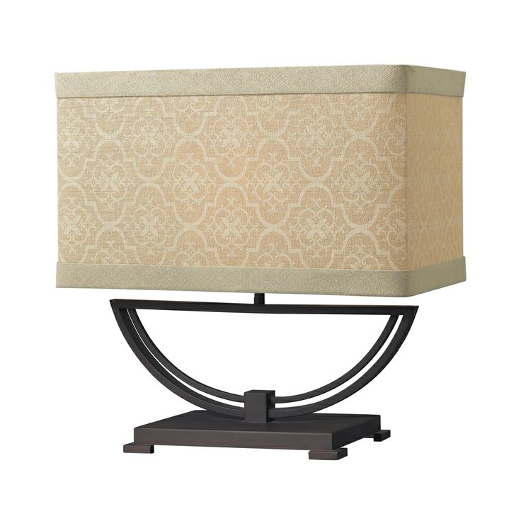 Sailsbury Metal Table Lamp Shown In Dark Bronze By Dimond Lighting