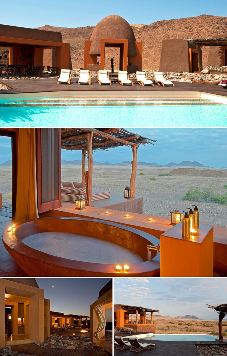 No.5 On Ker & Downey Africa's list is Okahirongo Elephant Lodge in Kunene, Namibia. The perfect barefoot luxury desert retreat. #luxuryretreat #namibia #barefoorluxury