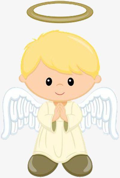 angel clipart boy - 400×592