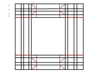1000moments.ru: Мастер-класс по созданию фоторамки из одного листа скрап бумаги