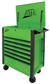 """35"""" 7-Drawer Flip-Top Tool Cart Part #: ATD70400 Mfg Price: $971.69 Our Price:$492.99 You Save: 49 % http://www.nationaltoolwarehouse.com/"""