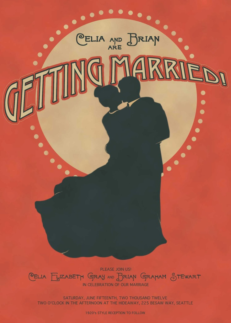 56 best W&W images on Pinterest | Wedding stationery, 1920s wedding ...