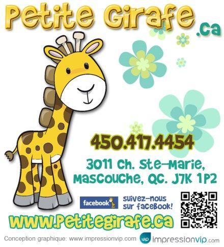Petite Girafe, boutique   Regroupement Mieux-Être Famille