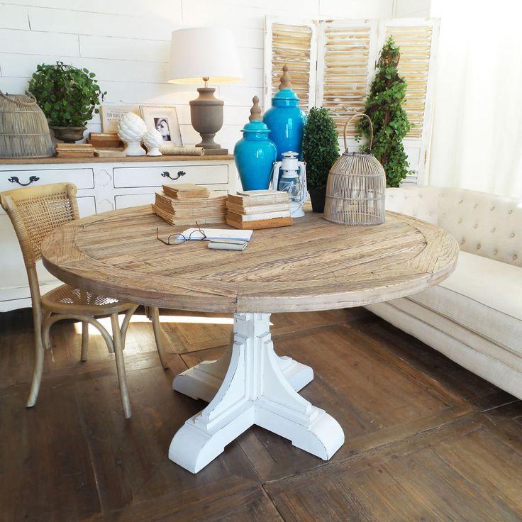 Oltre 25 fantastiche idee su tavoli in legno rustico su - Tavolo legno riciclato ...