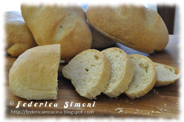 Pane con farina integrale di farro