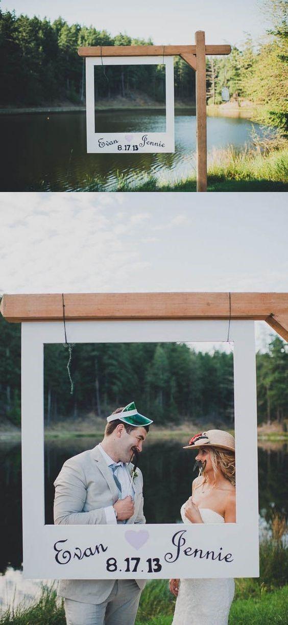 7 Kreative Polaroid-Hochzeitsideen sind zu cool, um darauf zu verzichten! #hochzeitsdekor #chillen # …   – Rustic Weddings