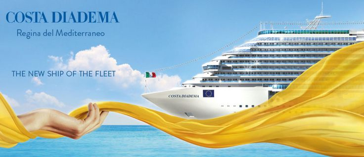 Costa Diadema the 15th ship and new Flagship of Costa Cruises, was presented by Costa Cruises and Fincantieri. Costa Cruises has invested a total of around 550 million euro in the construction of t...