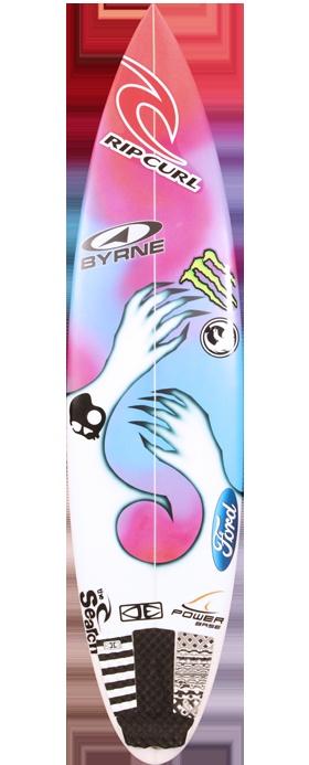 Heatseaker Owens surfboard