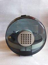 Philips 22 GF 303 radiola ufo Dupont pompon-disque turntable Anthracite