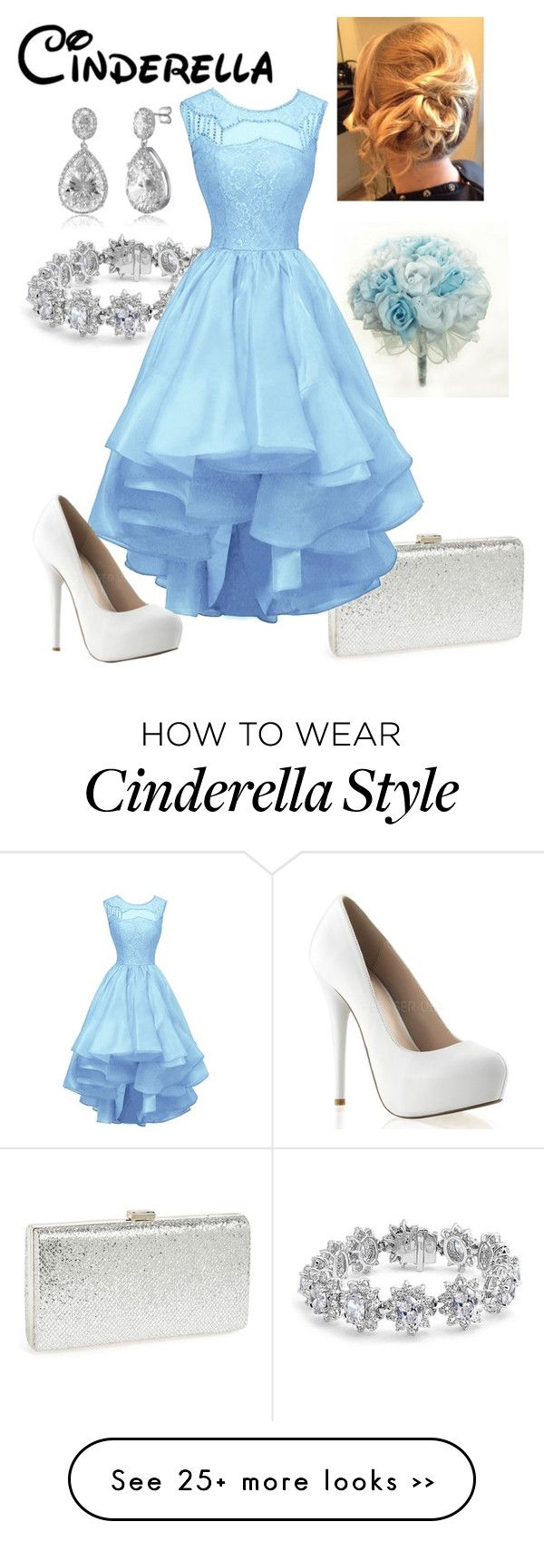 """Disney - Cinderella"" by briony-jae on Polyvore featuring Natasha Couture, Bling Jewelry and BERRICLE"