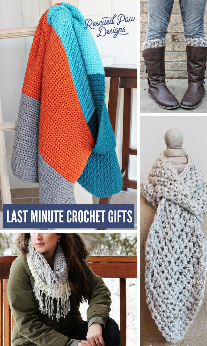 Make Crochet Christmas Gifts In A Weekend All Free Crochet