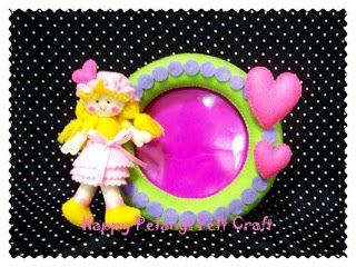 Happy Pelangi Felt Craft: Bingkai Foto Flanel (Felt Photo Frame)