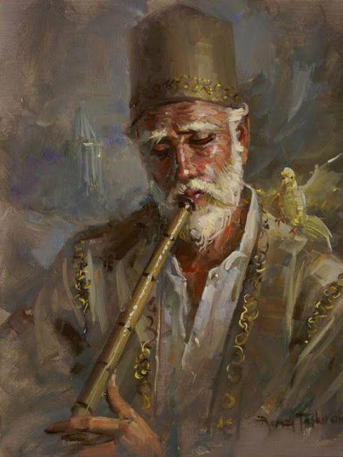 Awesome! Turkish painter, Remzi Taşkıran!!