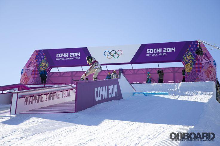 Sochi 2014. Snowboarding.