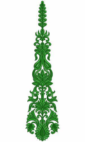 9253 Anarkali Embroidery Design                                                                                                                                                     More